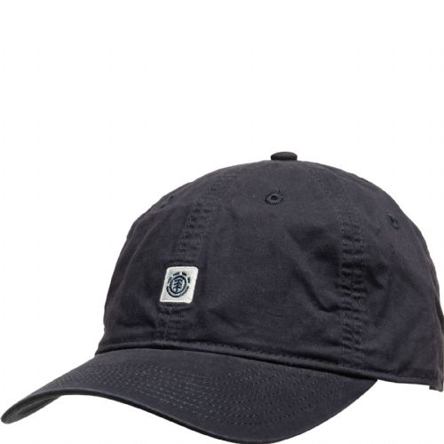 ELEMENT MENS BASEBALL CAP.FLUKY DAD NAVY COTTON UNSTRUCTURED CURVED HAT S20 2